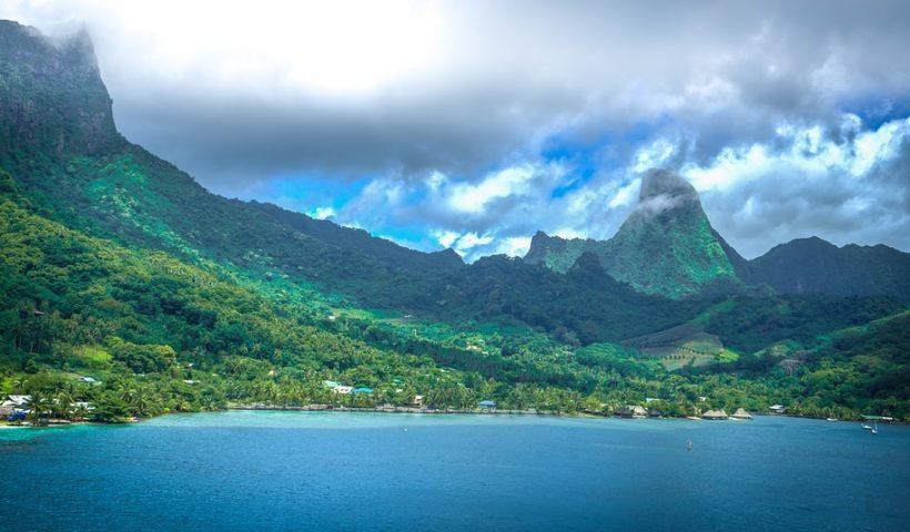 La beauté de la Polynésie