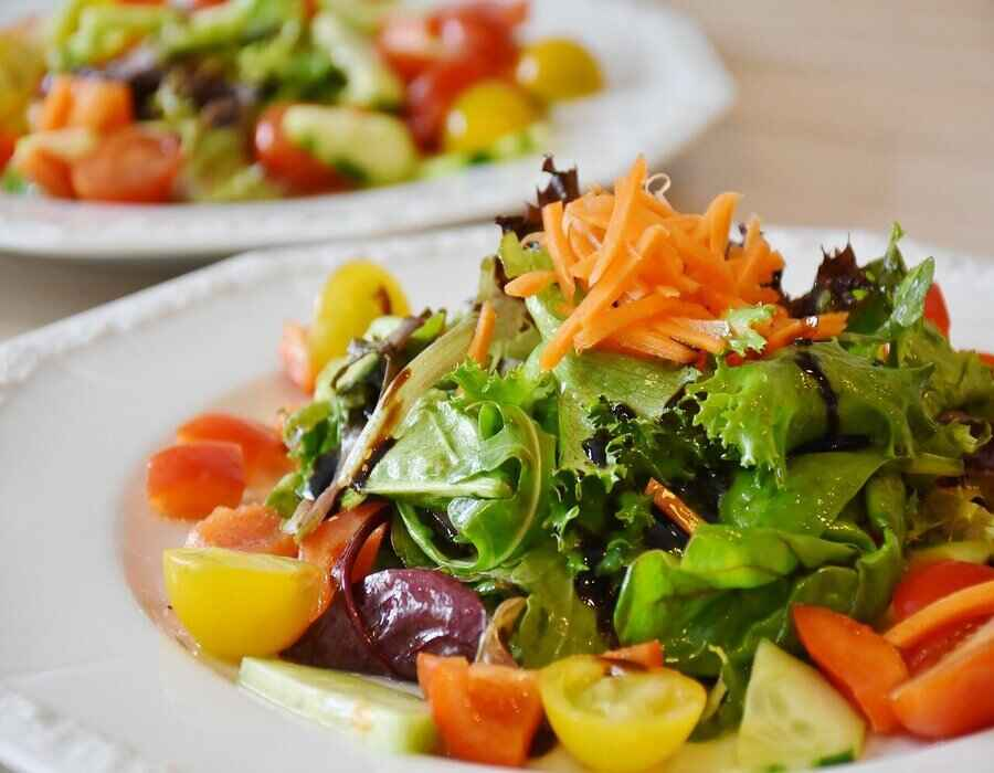 Perte de poids : régime salades.